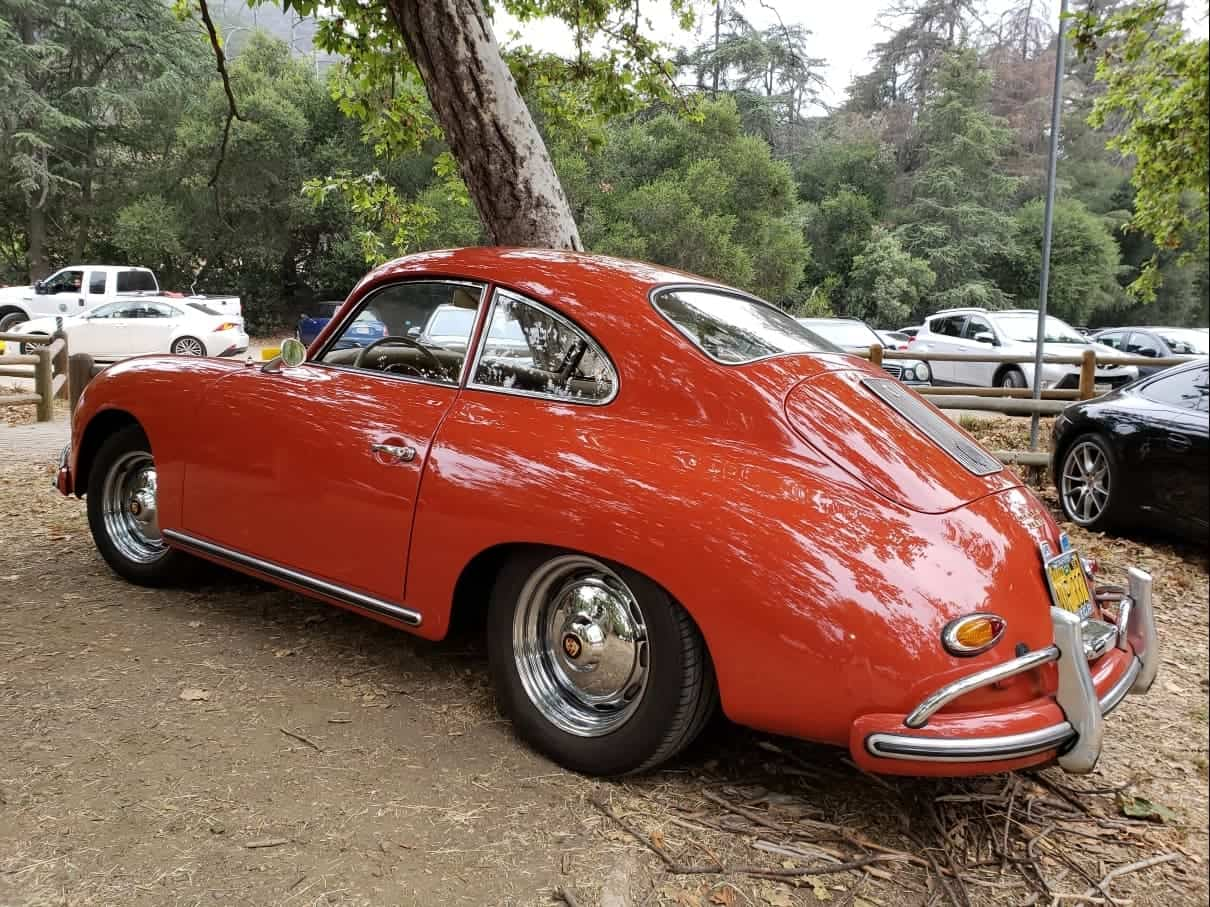 Red Porsche 356 @ Highway Earth