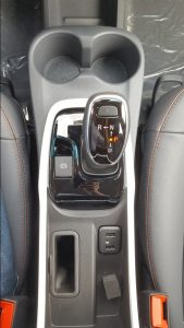2019 Chevrolet Bolt EV shifter console