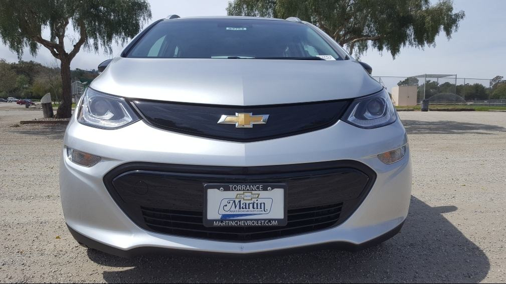 Silver 2019 Chevy Bolt EV front