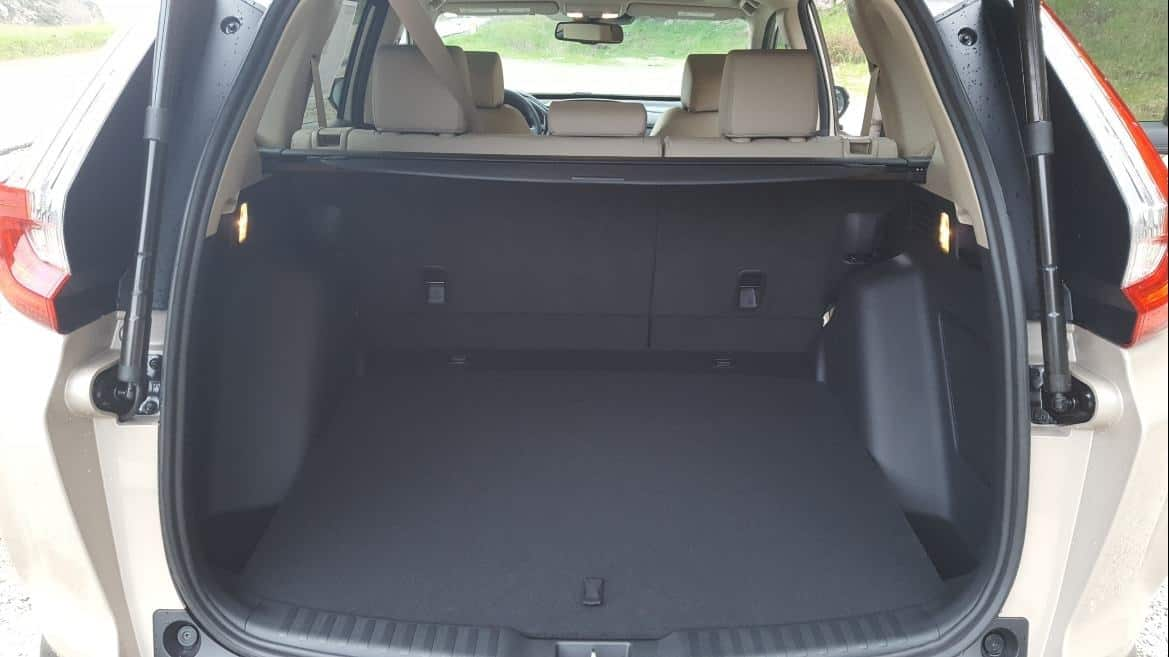 Interior 2019 Honda CR-V cargo