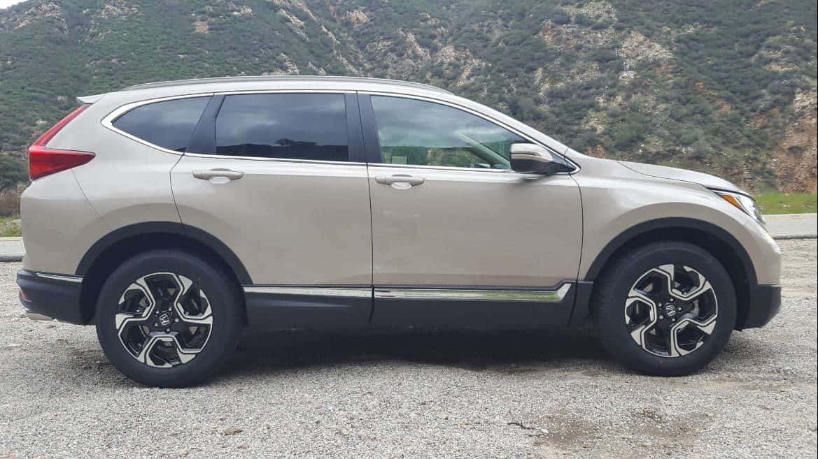 Tan 2019 Honda CR-V passenger profile
