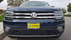 Blue 2019 VW Atlas front