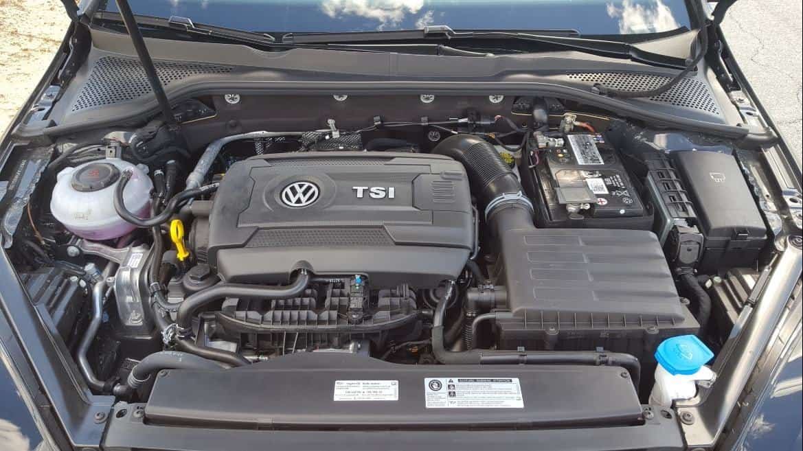 '19 VW Golf GTI Rabbit Edition engine