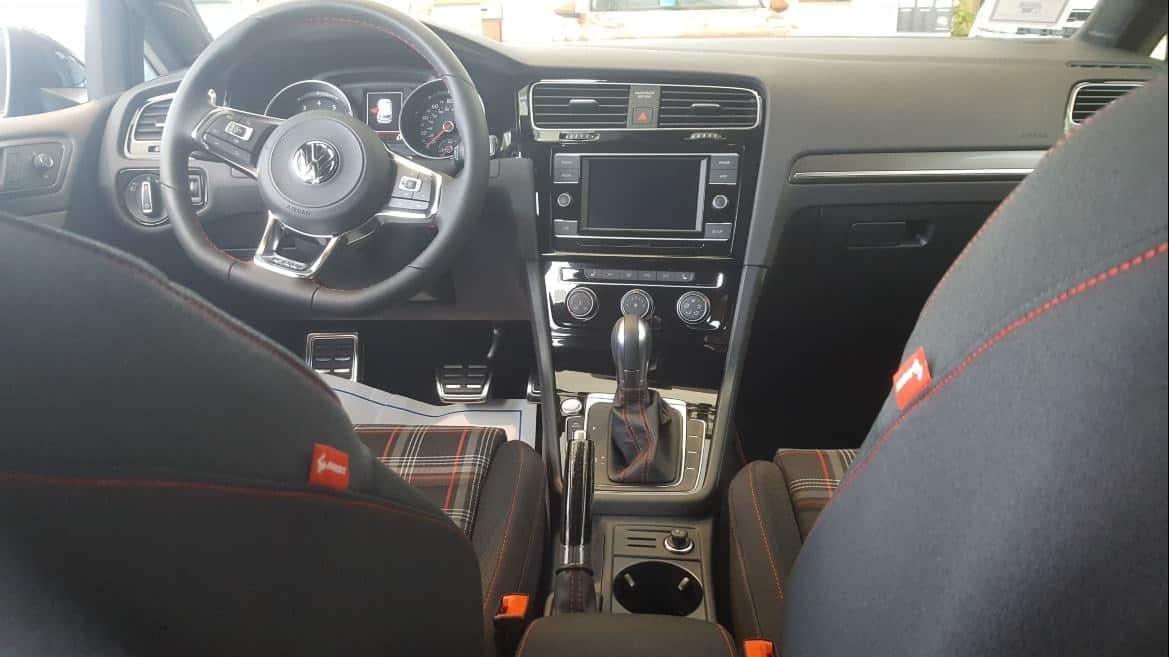 2019 VW Golf Rabbit Seats gray