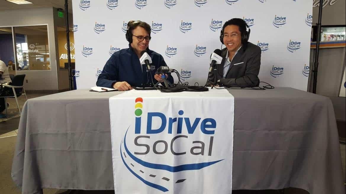 Tom & Clinton Podcasting @ Rock Honda