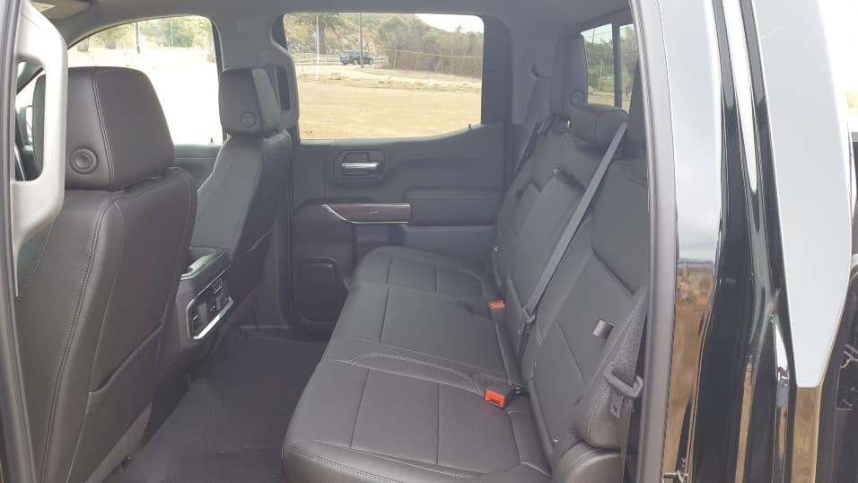 Gray 2019 Chevrolet Silverado 1500 backseat