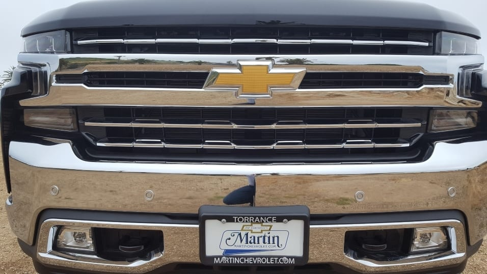 Close-up 2019 Chevy Silverado front Martin Chevrolet