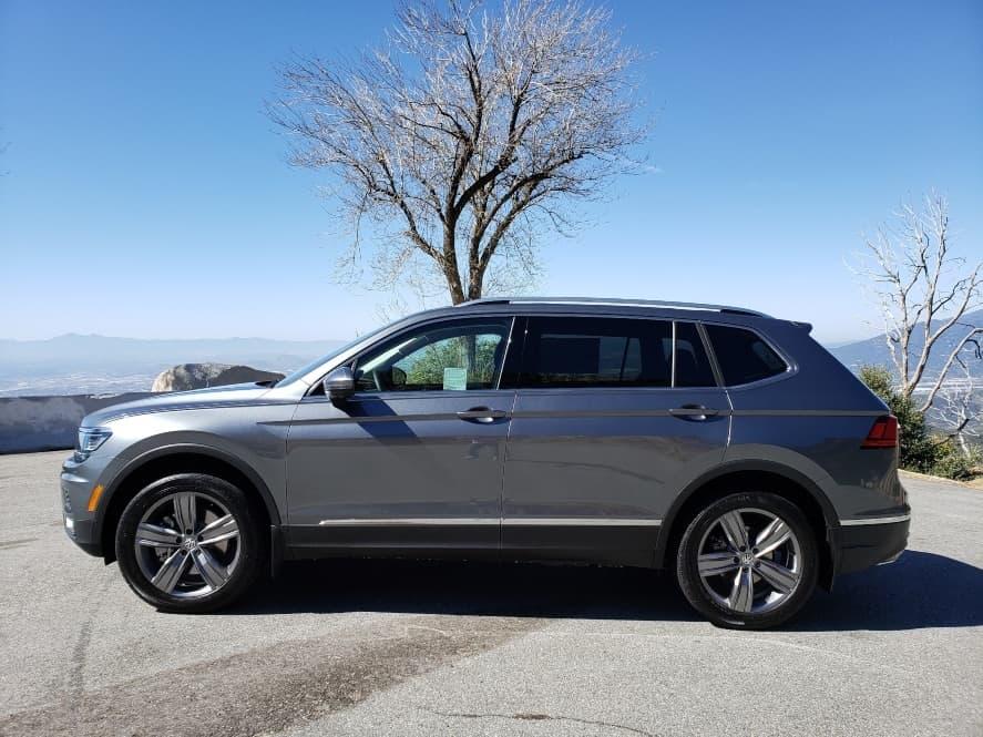 Gray 2019 Volkswagen Tiguan driver profile