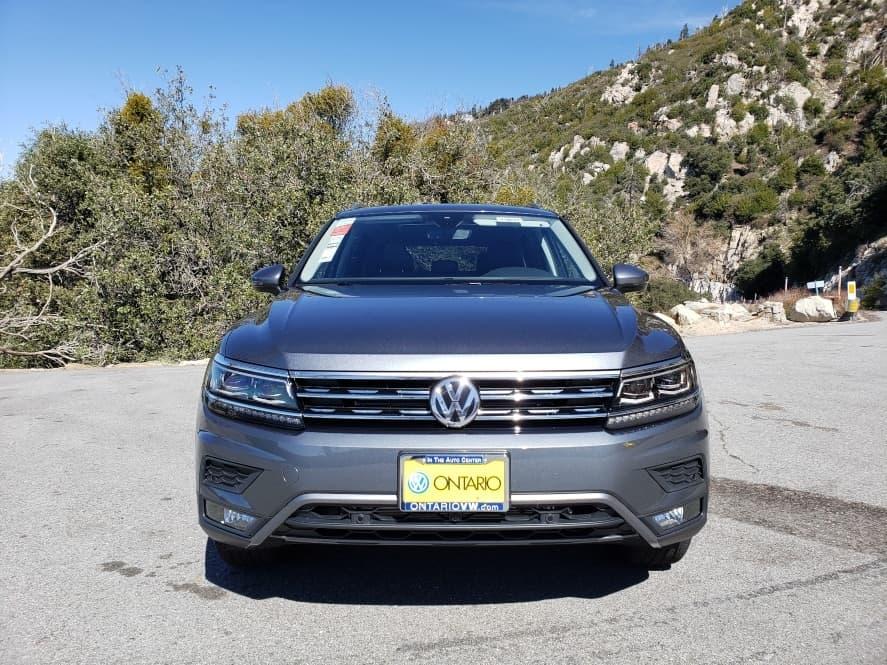 Gray 2019 Volkswagen Tiguan front