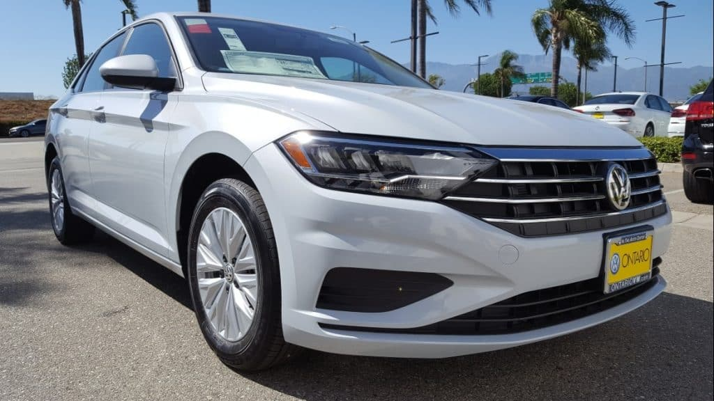 White 2019 VW Jetta