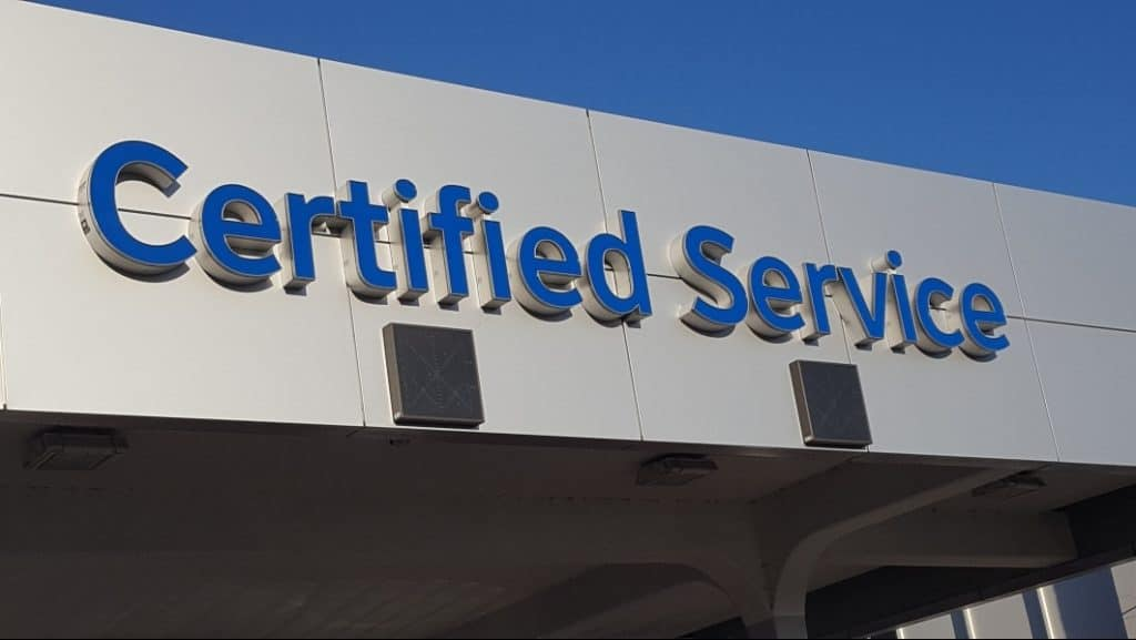 Martin Chevy Certified Service