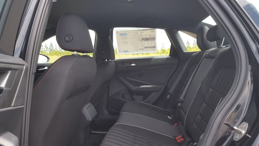 '19 Volkswagen Jetta GLI 35 backseat