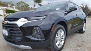 Black 2019 Chevrolet Blazer driver front