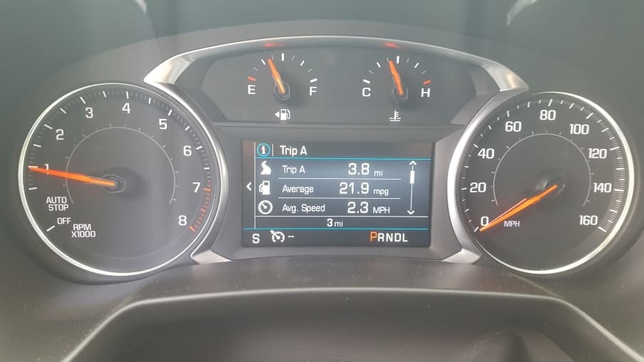2019 Chevrolet Blazer review - dashboard/instrument cluster