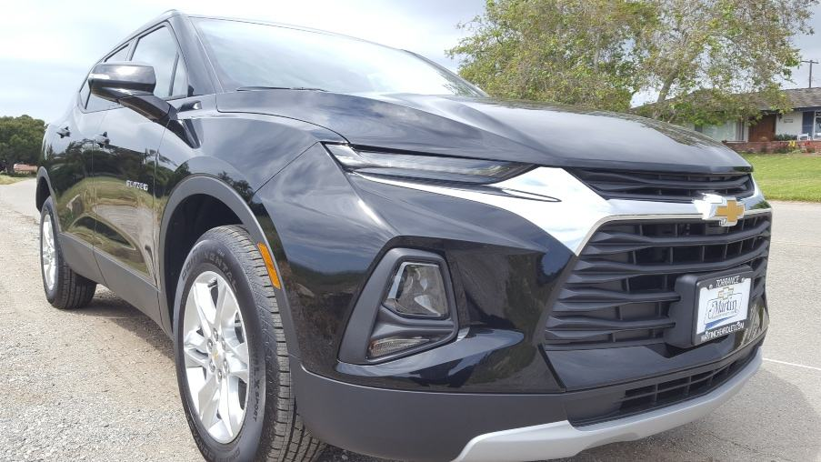 Black 2019 Chevrolet Blazer review