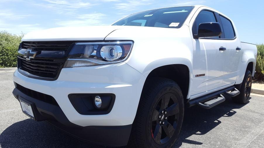 White 2019 Chevy Colorado LT Redline