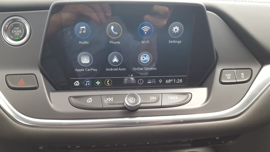 2019 Chevy Blazer 8.inch touch screen