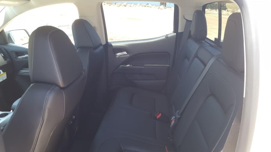 Colorado backseat