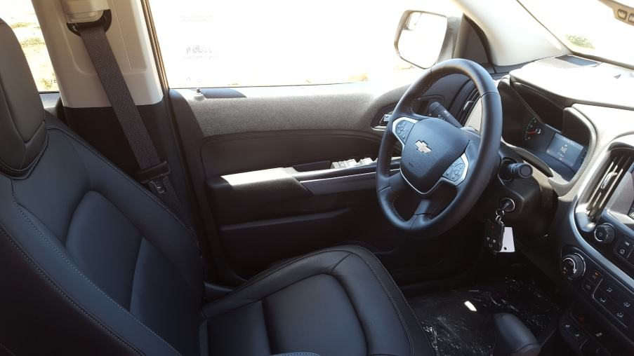 Interior Colorado cockpit