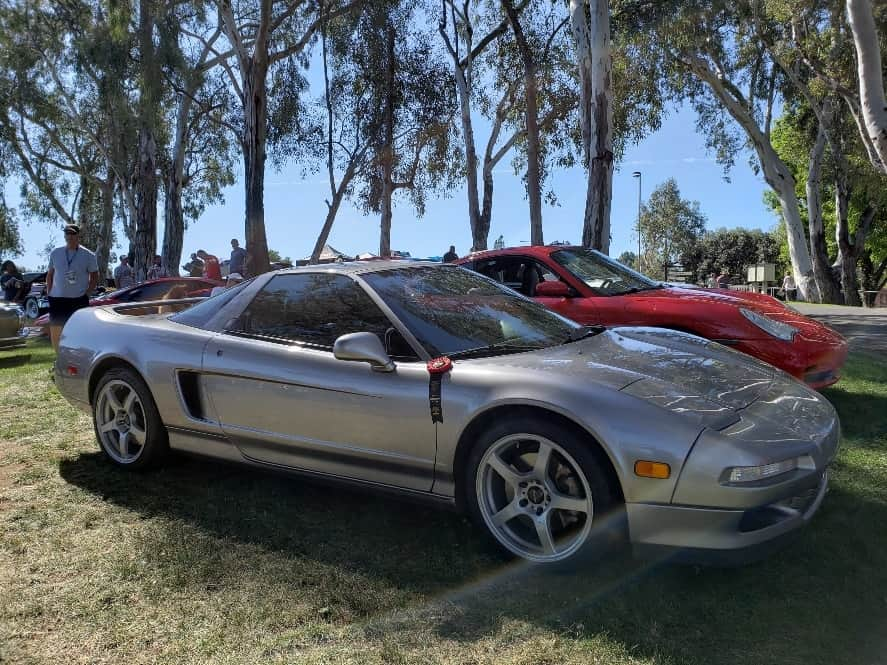 Gray First Generation Acura NSX @ Benedict Castle Concours