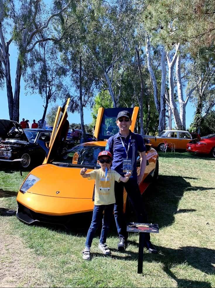 Orange Lamborghini Murcielago @ Benedict Castle Concours