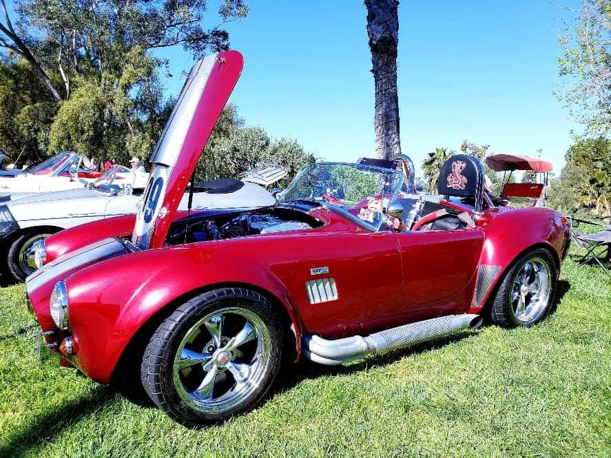 Red Shelby Cobra