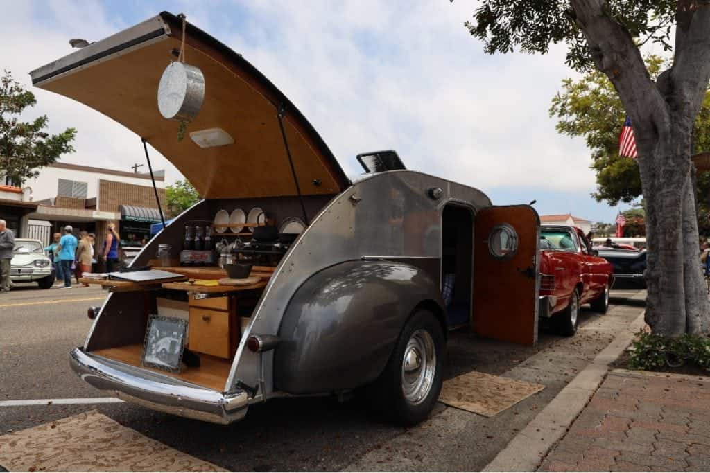 1947 Kenskill teardrop trailer