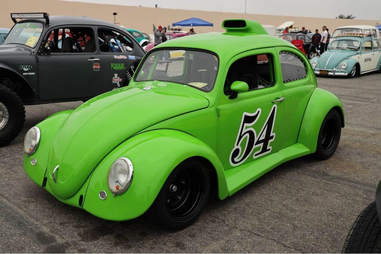 Green Volkswagen Beetle 1962