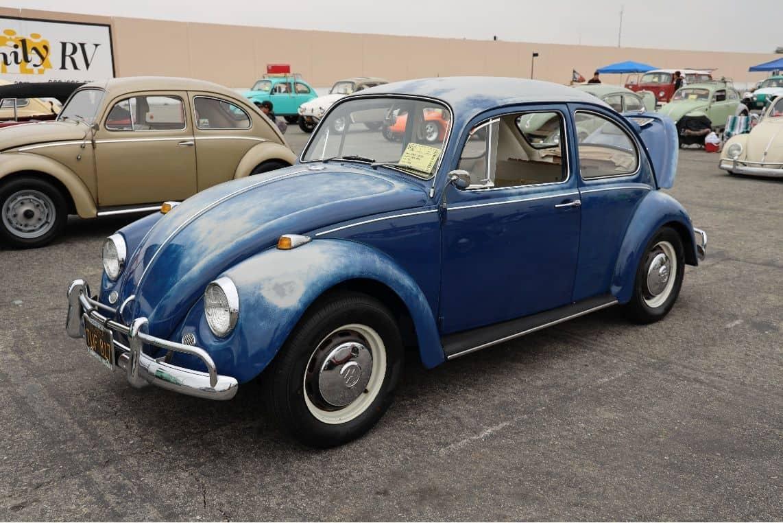 Blue Volkswagen Beetle 1967