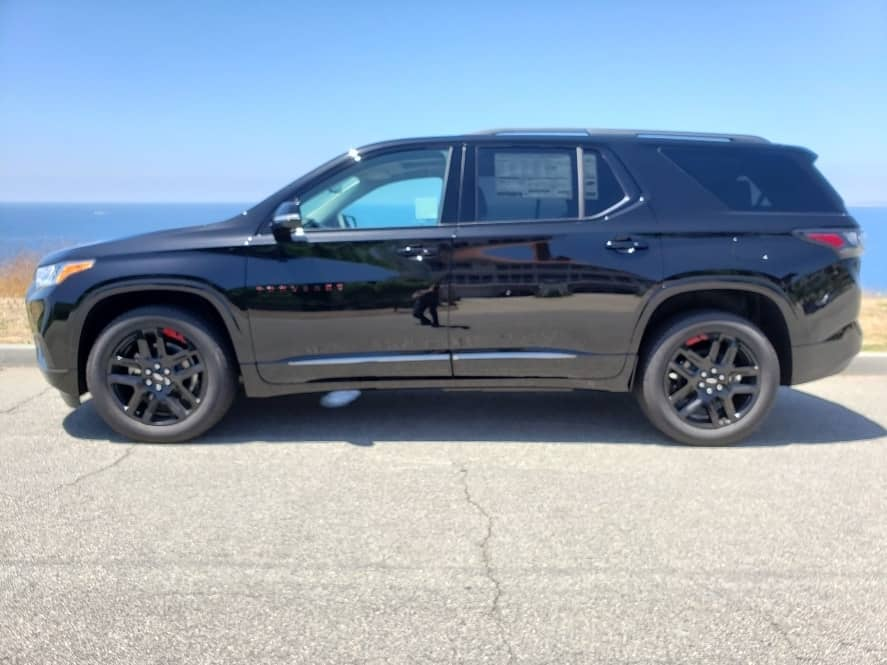 Black '19 Chevy Traverse - driver profile
