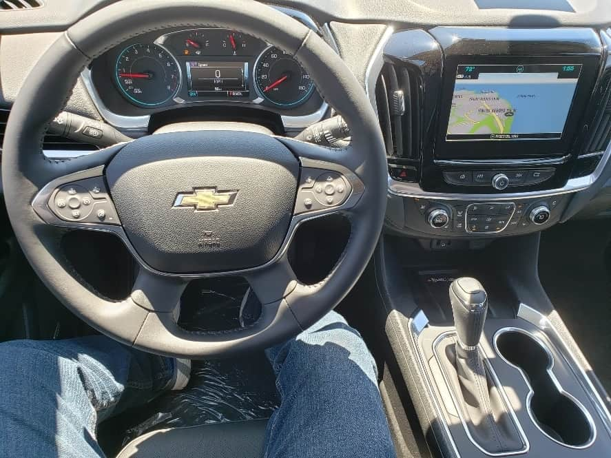 2019 Chevy Traverse cockpit