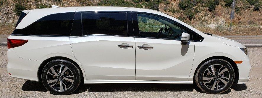 2019 Honda Odyssey passenger profile banner