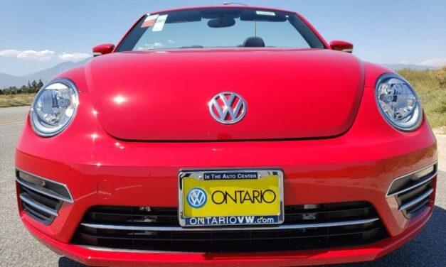 2019 Volkswagen Beetle Convertible Review