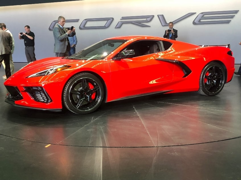 2020 Chevy Corvette Stingray driver profile