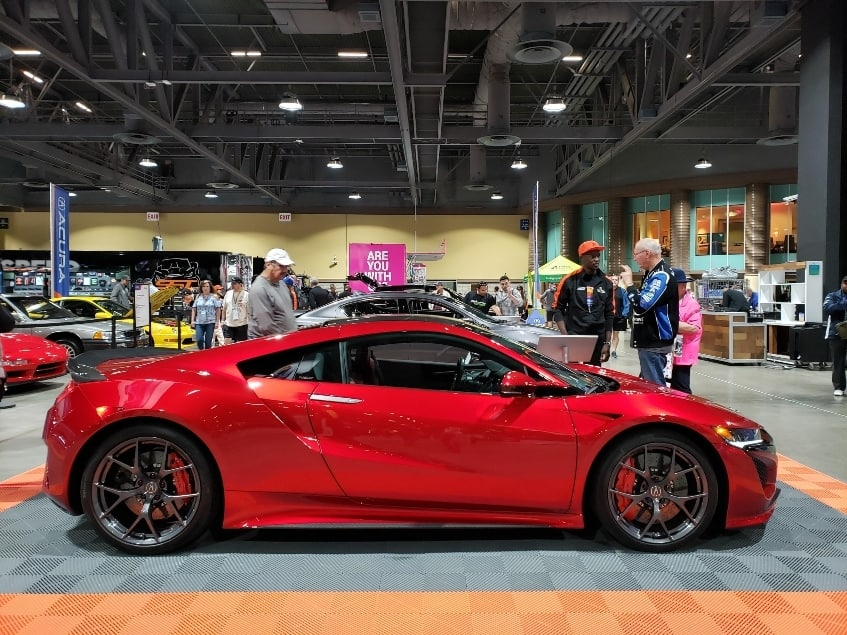 Acura NSX at the Long Beach Grand Prix Lifestyle Expo