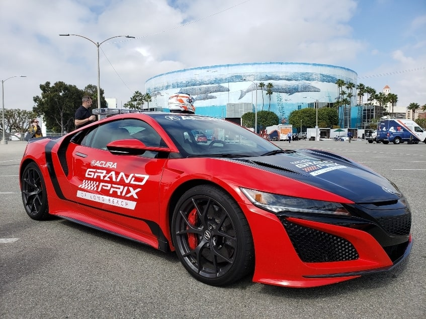 Acura NSX at the Long Beach Grand Prix