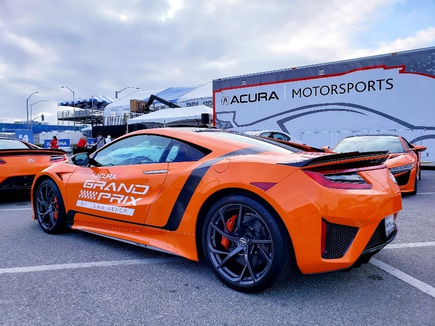 Acura proudly takes over the Long Beach Grand Prix in 2019