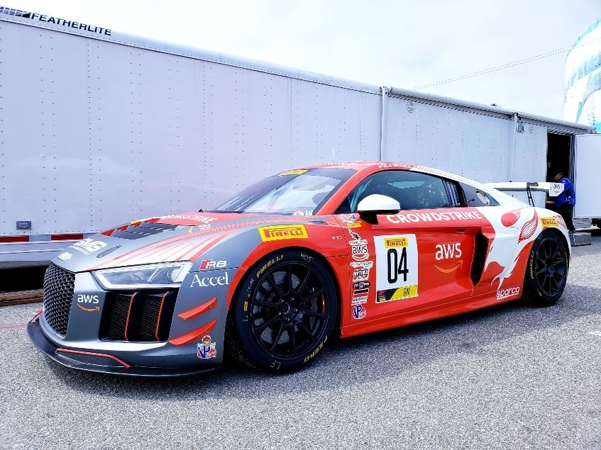 Audi R8 at the Long Beach Grand Prix