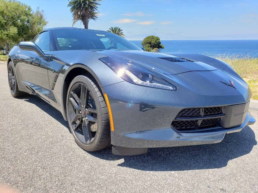 2019 Chevrolet Corvette Stingray passenger front