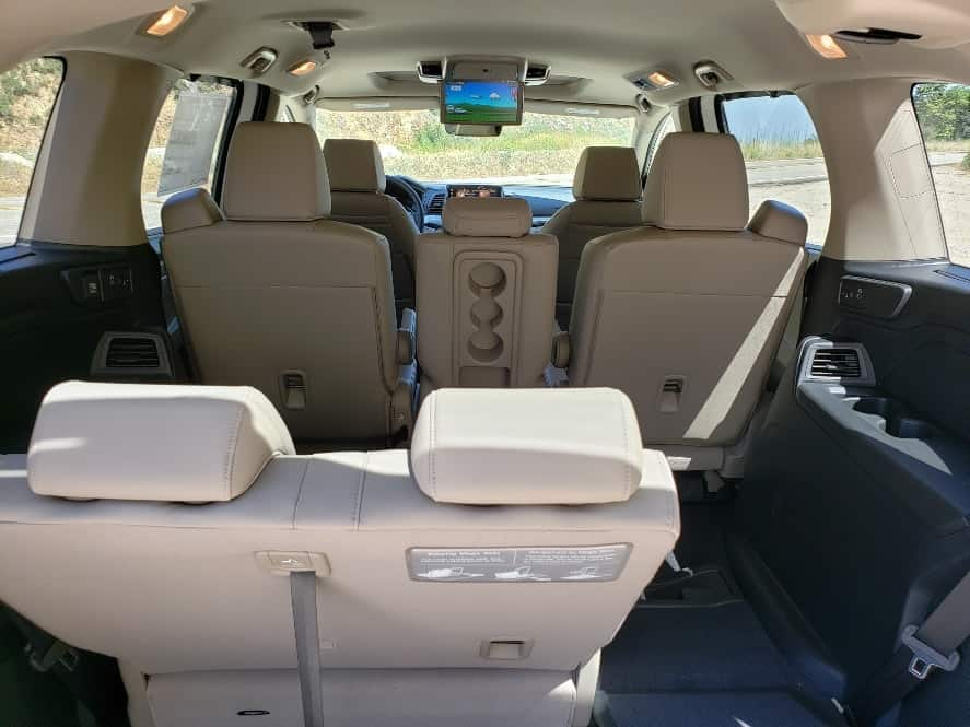 rear access to Honda Odyssey