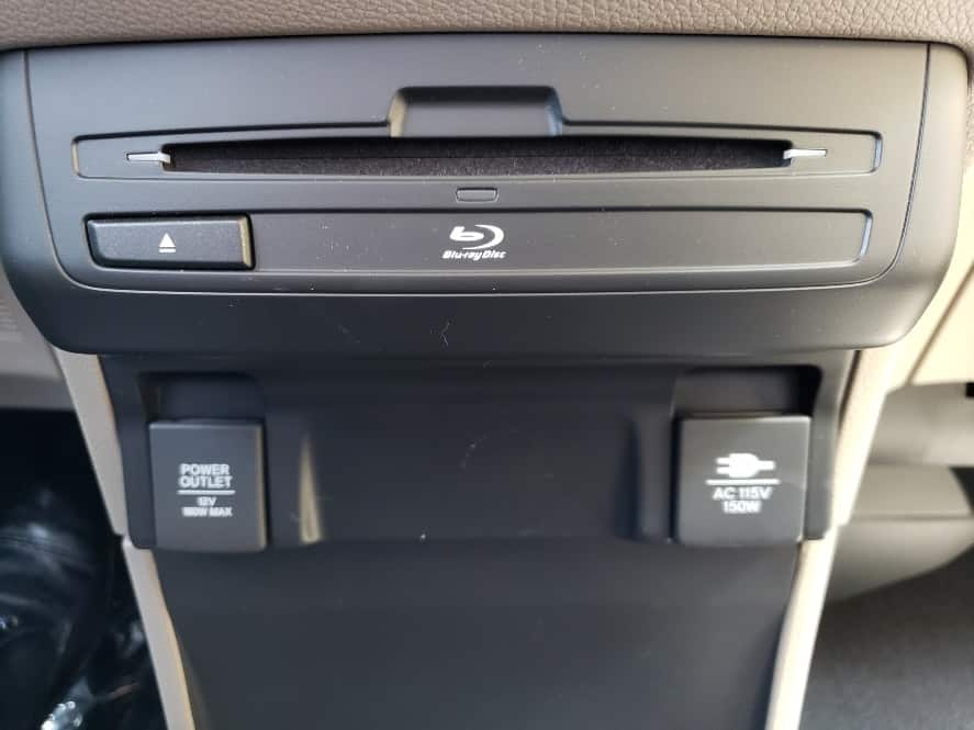 backseat center stack