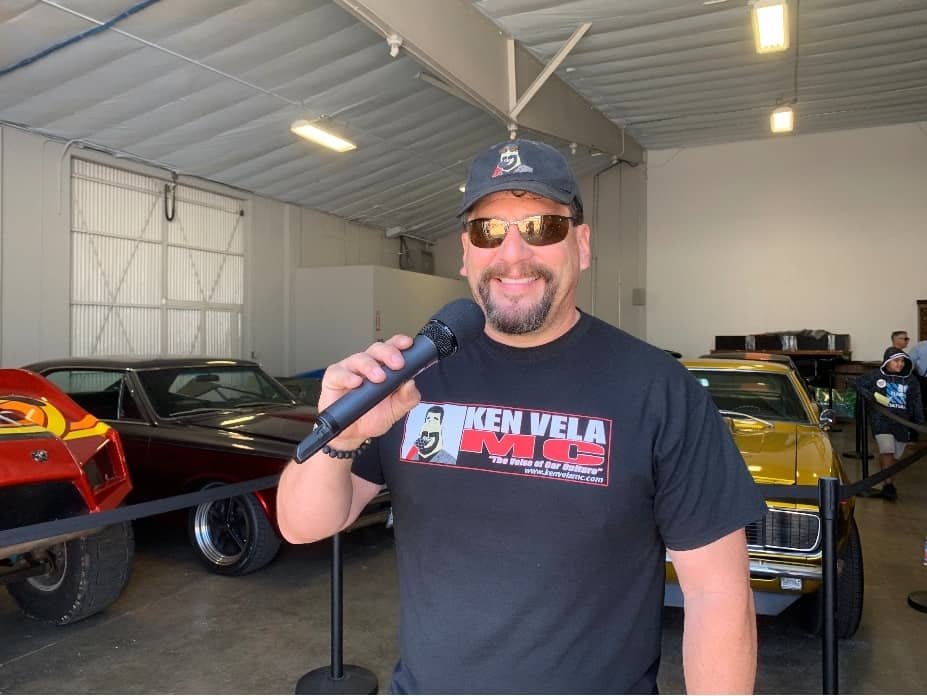 Ken Vela the Voice of Car Culture