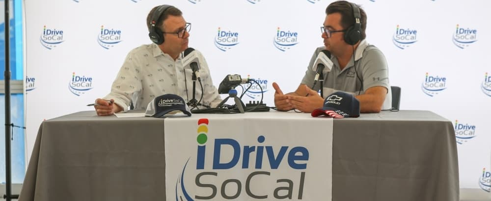 Tom Smith & Lewis Cook iDriveSoCal podcast banner End Of Lease Podcast