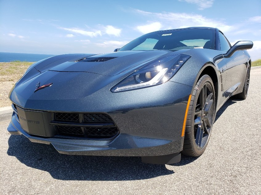 2019 Chevrolet Corvette Stingray driver front