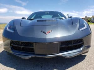 2019 Chevrolet Corvette Stingray front