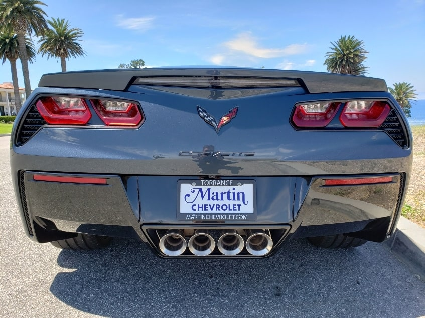 2019 Chevrolet Corvette Stingray rear