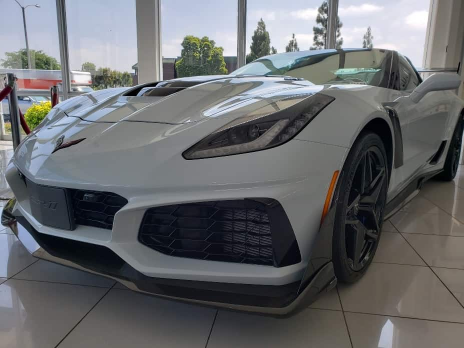 Ceramic Matrix Gray Metallic 2019 Chevrolet Corvette ZR1