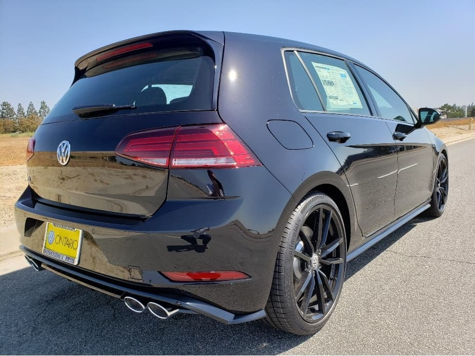 2019 VW Golf R passenger rear