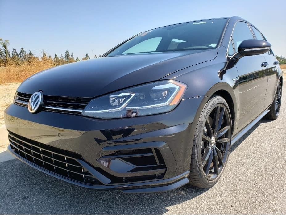 2019 Volkswagen Golf R driver front