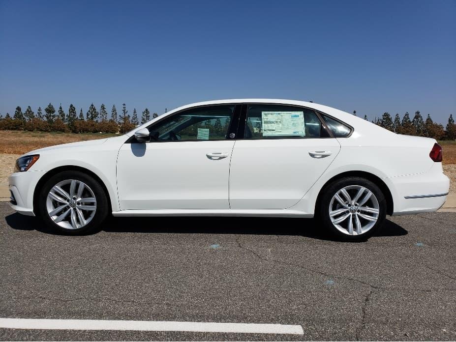 2019 Volkswagen Passat driver profile